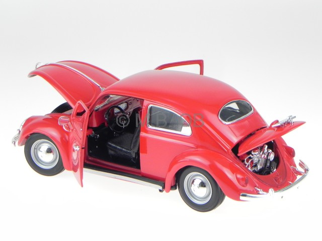 vw beetle beetle ovali rot modellauto 12029 bburago 1 18. Black Bedroom Furniture Sets. Home Design Ideas