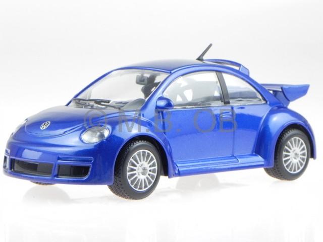 vw new beetle rsi blau modellauto 22125 bburago 1 24 ebay. Black Bedroom Furniture Sets. Home Design Ideas