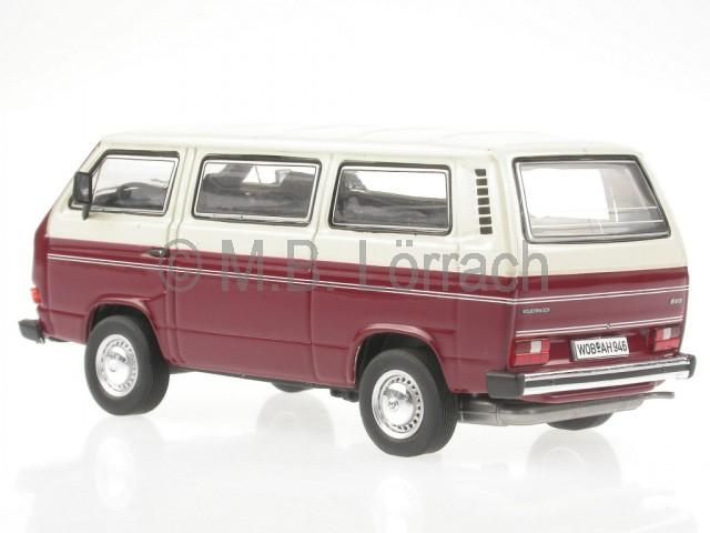 VOLKSWAGEN VW T3 b Bus Multivan LLE Limited Last Edition rot 1:43 Premium