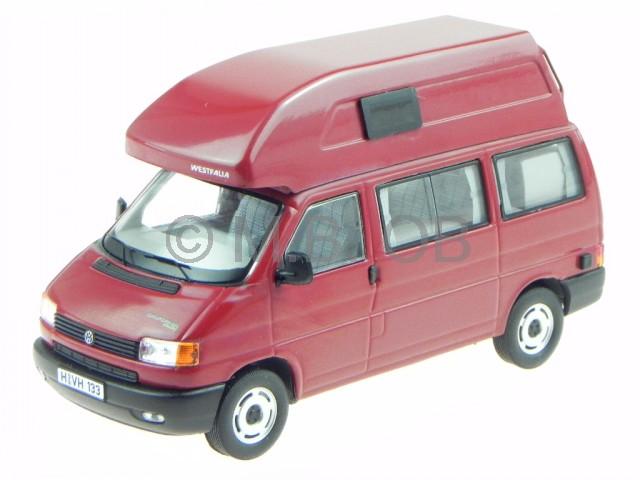 VW T4 California Hochdach rot Modellauto 13277 Premium ClassiXXs 1 43    Billig