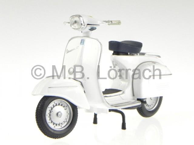 vespa 125 gt 1966 white motor roller metall modell maisto. Black Bedroom Furniture Sets. Home Design Ideas