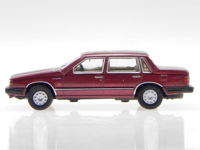 Volvo 760 rot Modellauto 76VO002 Oxford 1:76