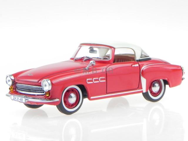 wartburg 313 1 sport coupe red gdr ostalgie deluxe diecast modelcar rh ebay com