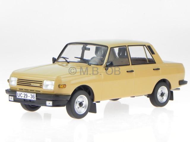 Wartburg 353 1985 marron véhicule miniature 18078 MCG 1 18