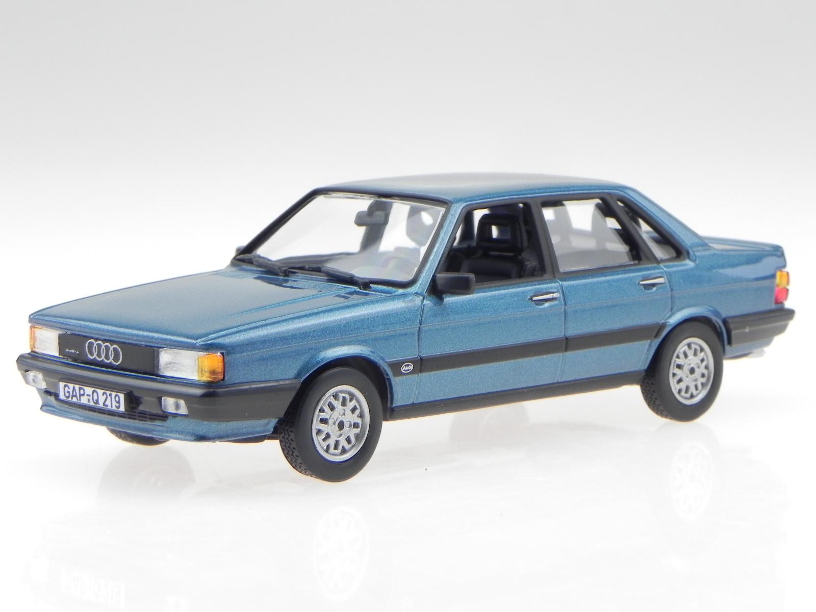 audi 80 b2 quattro 1985 blau modellauto 830027 norev 1 43. Black Bedroom Furniture Sets. Home Design Ideas