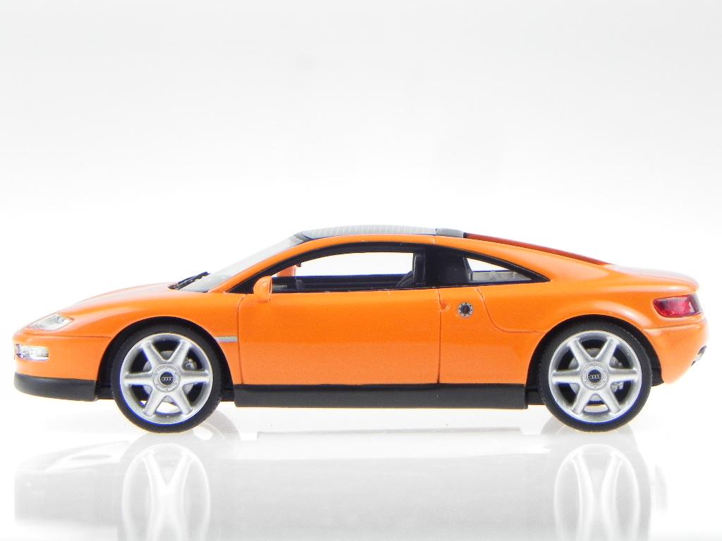 Audi Audi Audi Quattro Spider 1991 Orange Modellauto 43145 BOS 1 43 b28971