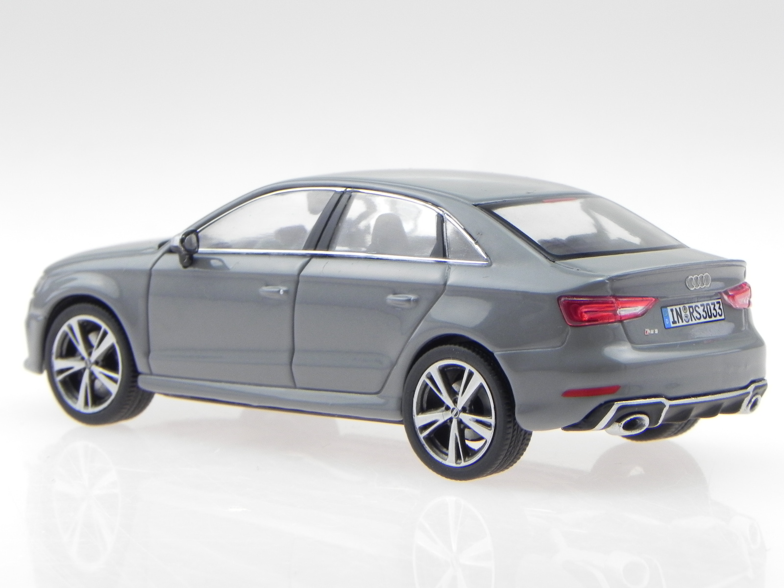 Iscale Audi Rs3 Saloon In Nardo Grey 5011613131 1 43 For Sale Online Ebay