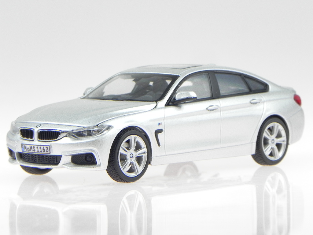 bmw f36 4er gran coupe glaciersilver modelcar kyosho 1 43. Black Bedroom Furniture Sets. Home Design Ideas