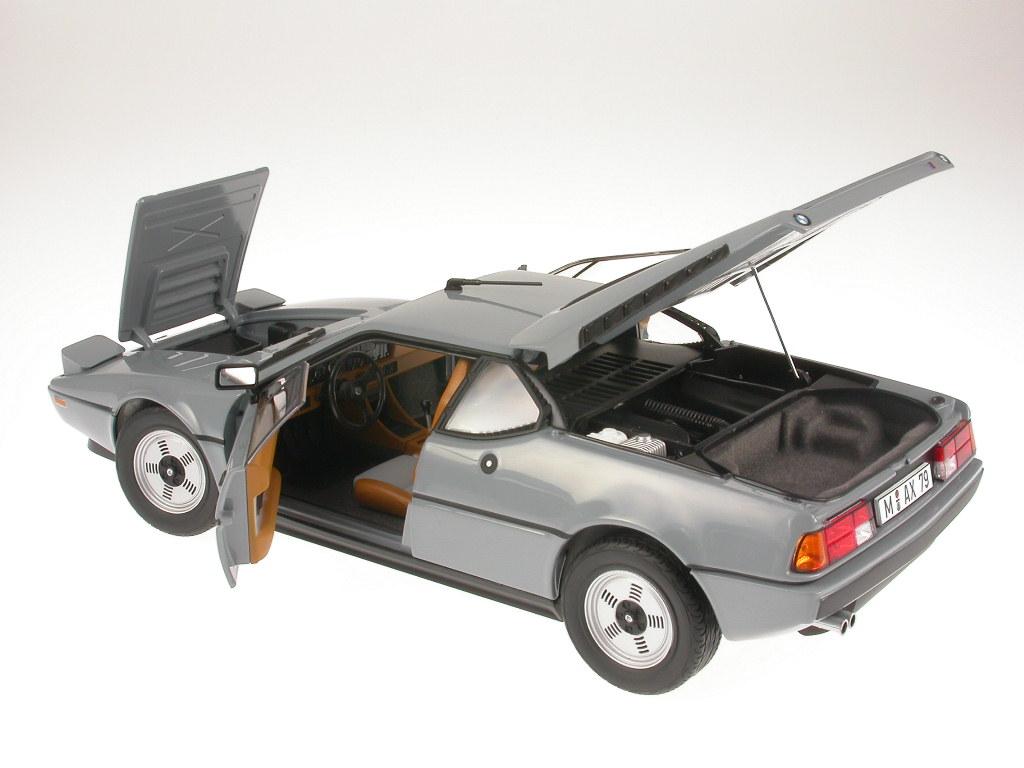 bmw m1 sonderfarbe fehlgrau modellauto norev 1 18 ebay. Black Bedroom Furniture Sets. Home Design Ideas