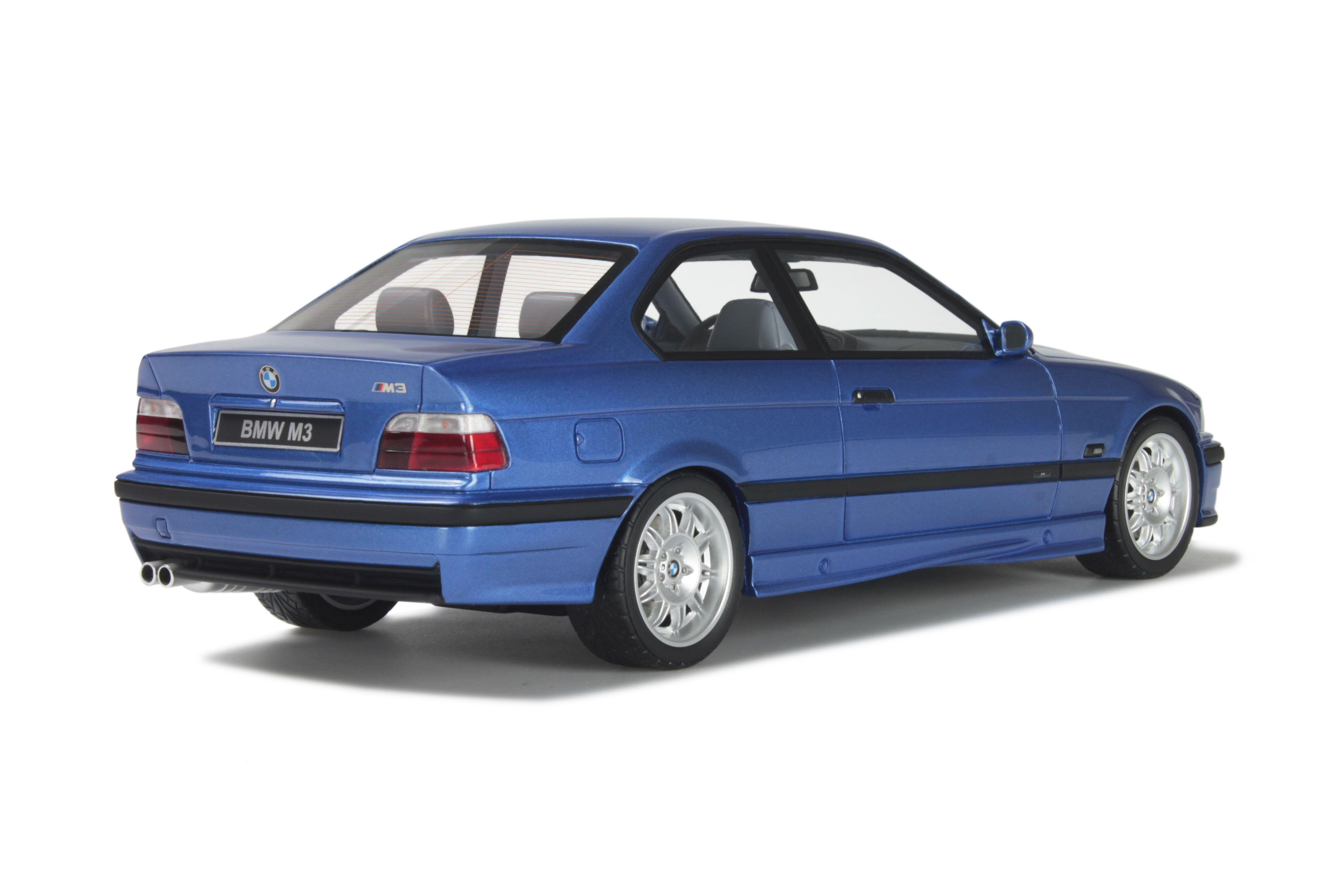 Bmw E36 M3 Coupe Blue Modelcar Ot625 Otto 1 18 Ebay