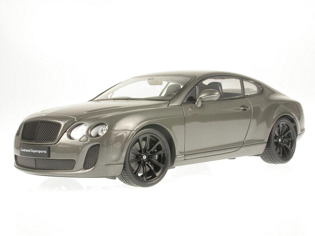 BLITZ VERSAND Bentley Continental Supersports gold Welly Modell Auto NEU /& OVP