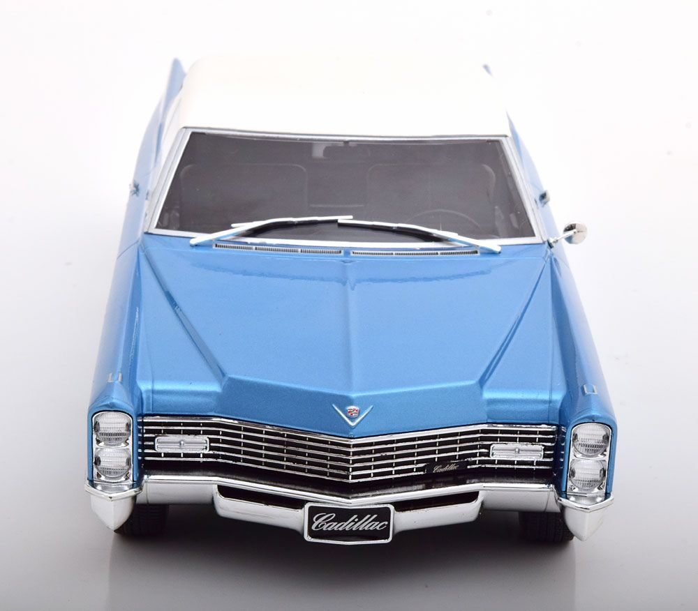 Cadillac DeVille Convertible 1968 Softtop Blue Diecast