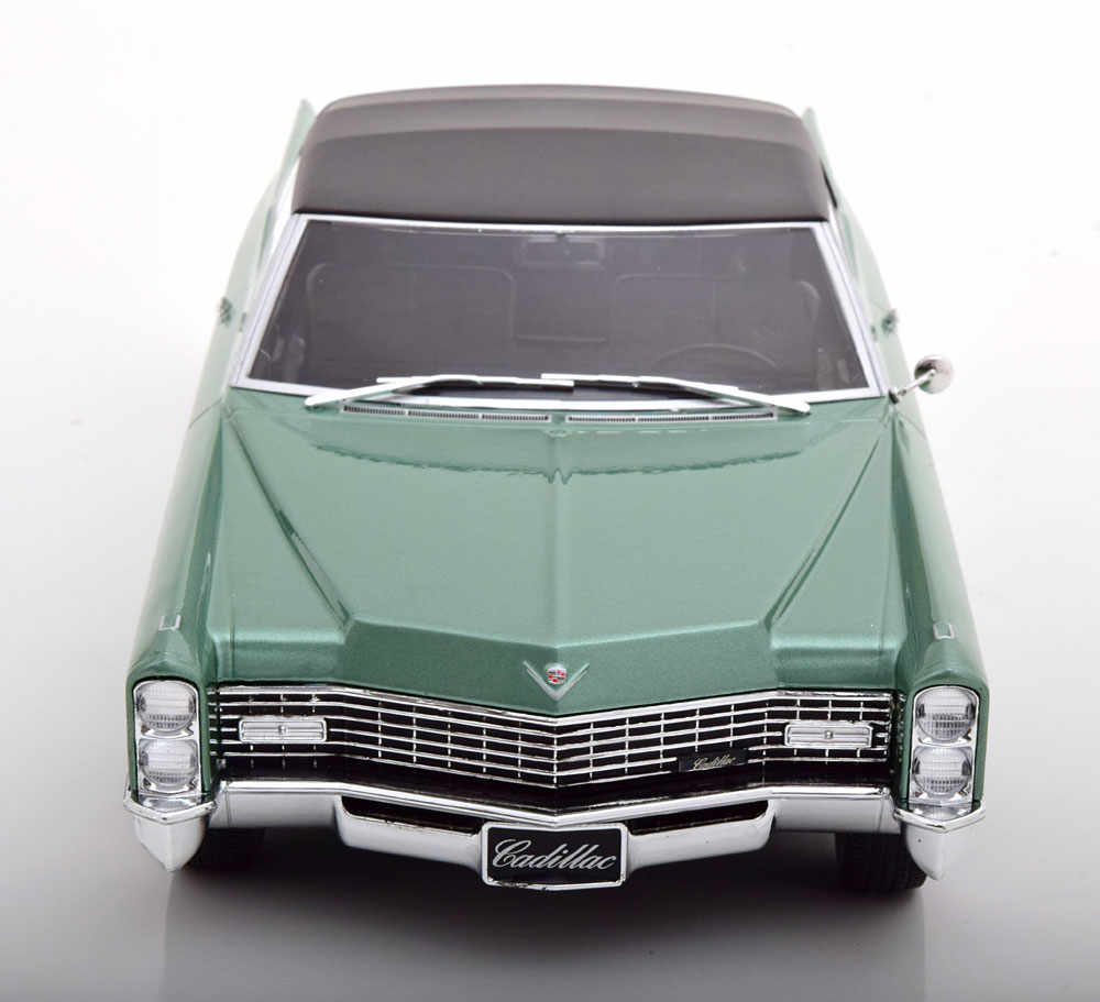 Cadillac DeVille Convertible 1968 Softtop Green Diecast