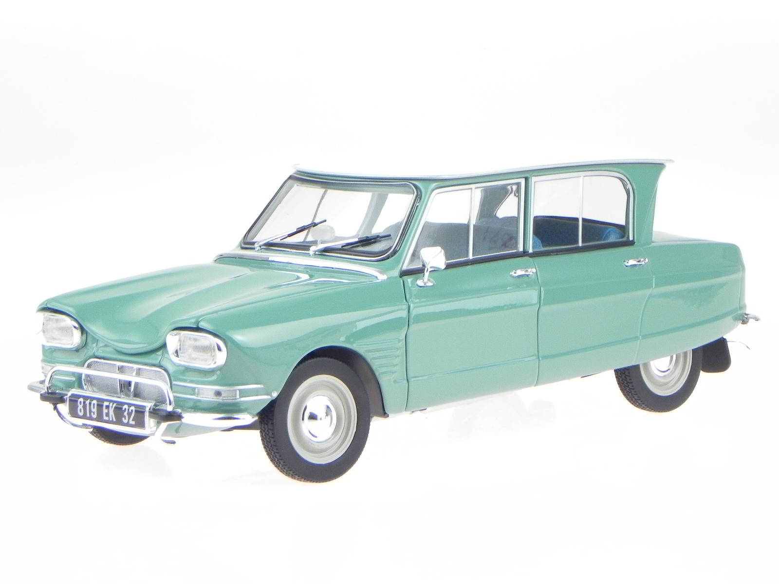 citroen ami 6 1964 jade green modelcar 181536 norev 1 18. Black Bedroom Furniture Sets. Home Design Ideas
