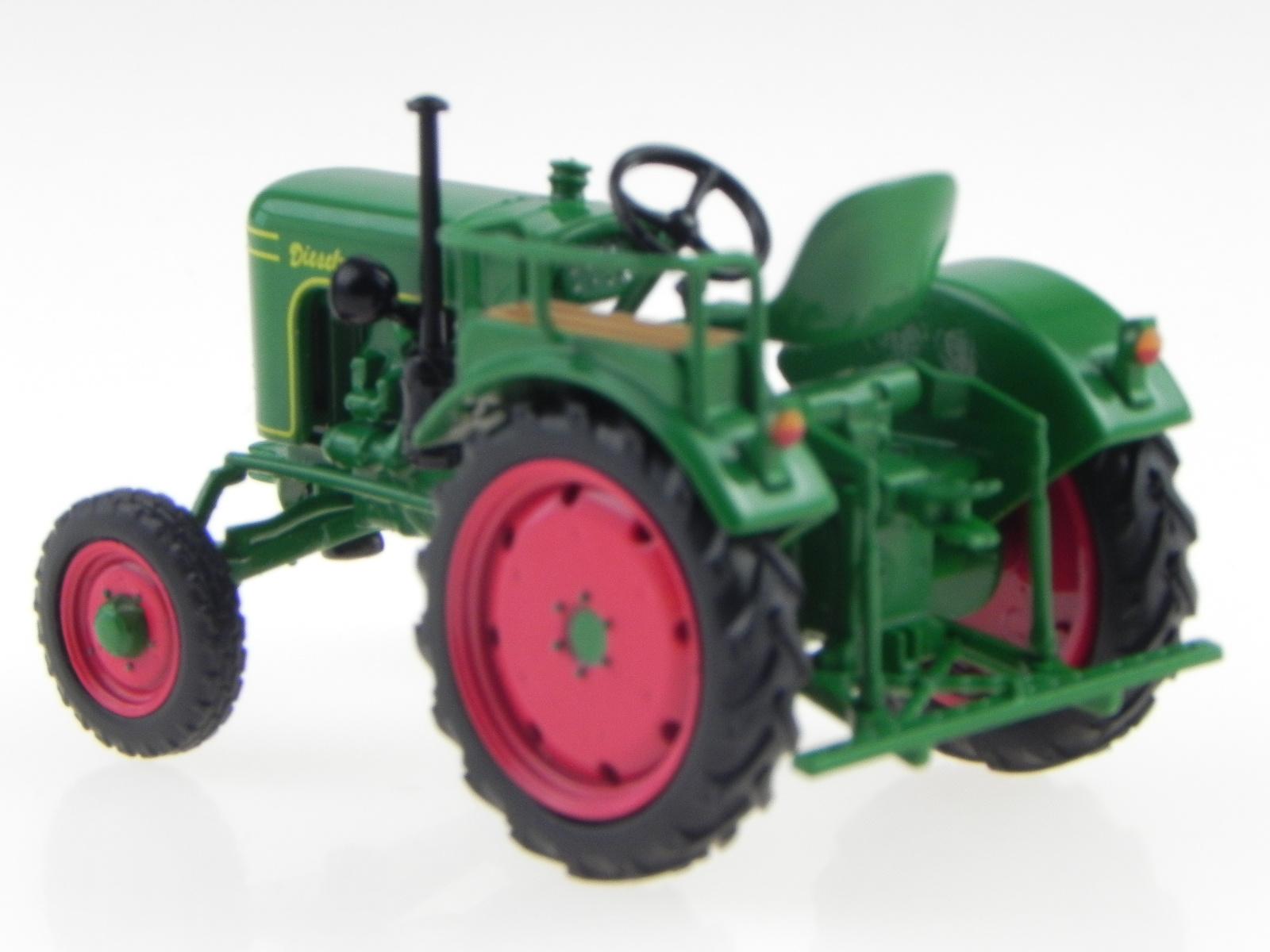 Fendt F15 H6 Dieselross Tractor 1956 Green Red IXO 1:43 TRA005G Model