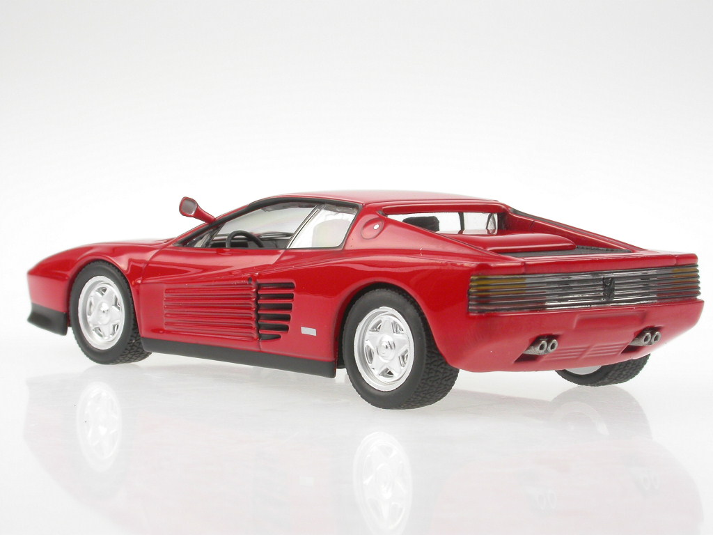 ferrari testarossa rot modellauto ixo 1 43 eur 19 99. Black Bedroom Furniture Sets. Home Design Ideas
