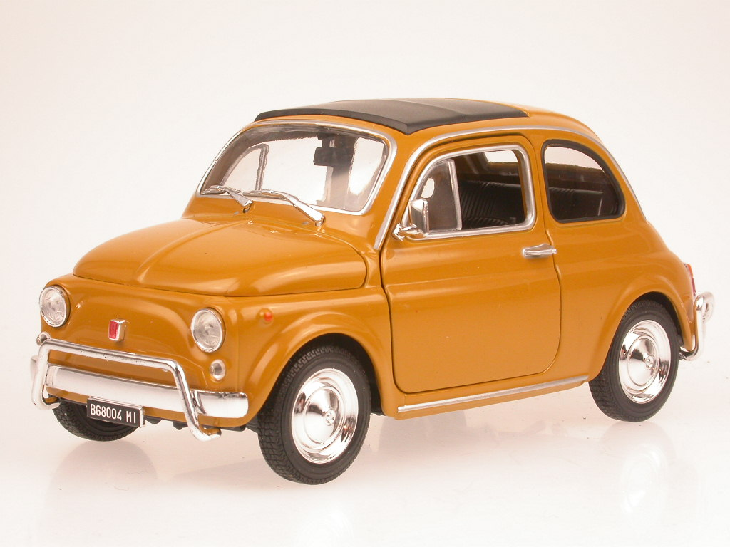 NEUF 1:24 1960-Bleu Leo Models-Fiat 500 Giardiniera