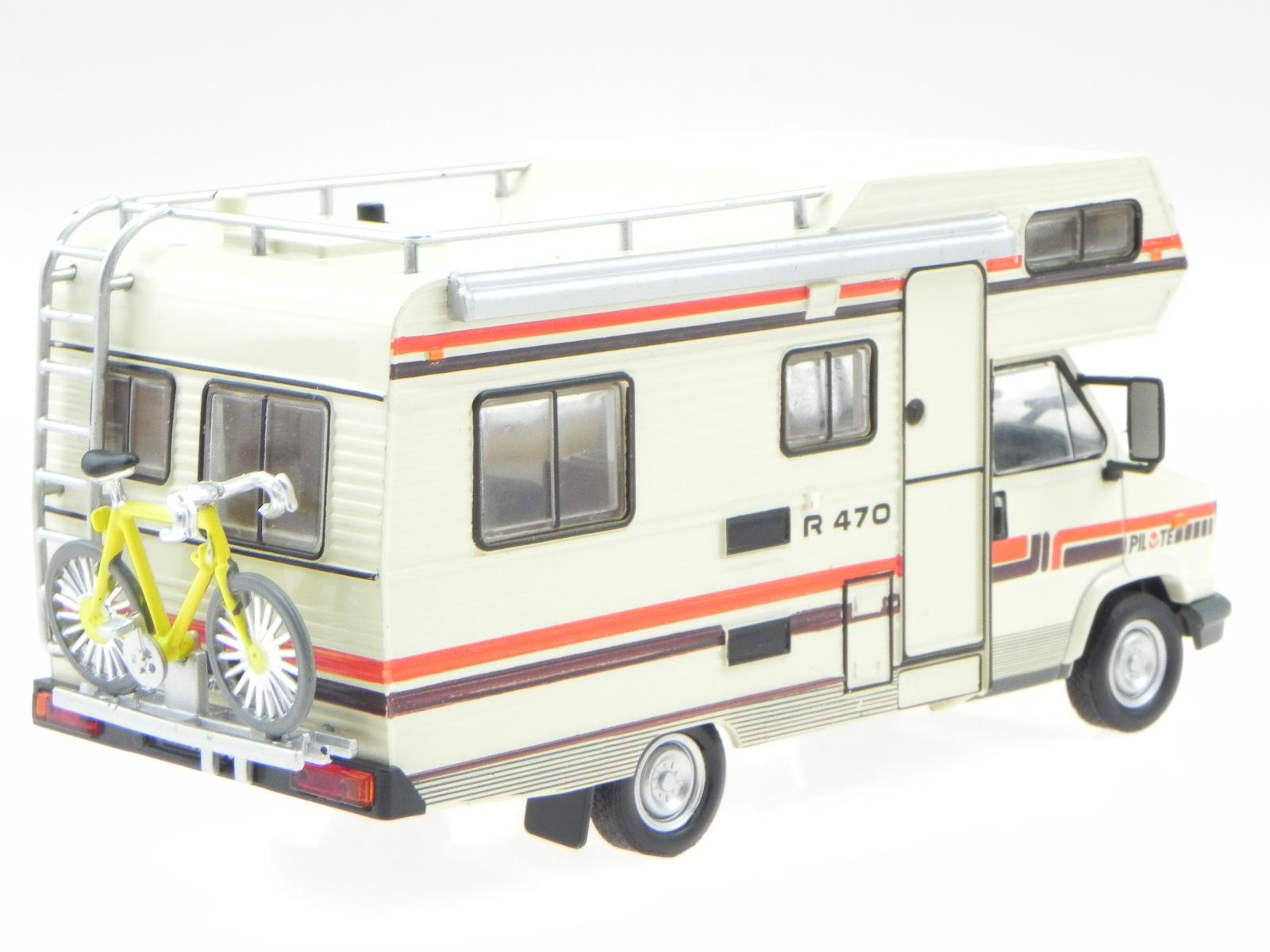 fiat ducato pilote r470 1984 camper wohnmobil modellauto. Black Bedroom Furniture Sets. Home Design Ideas