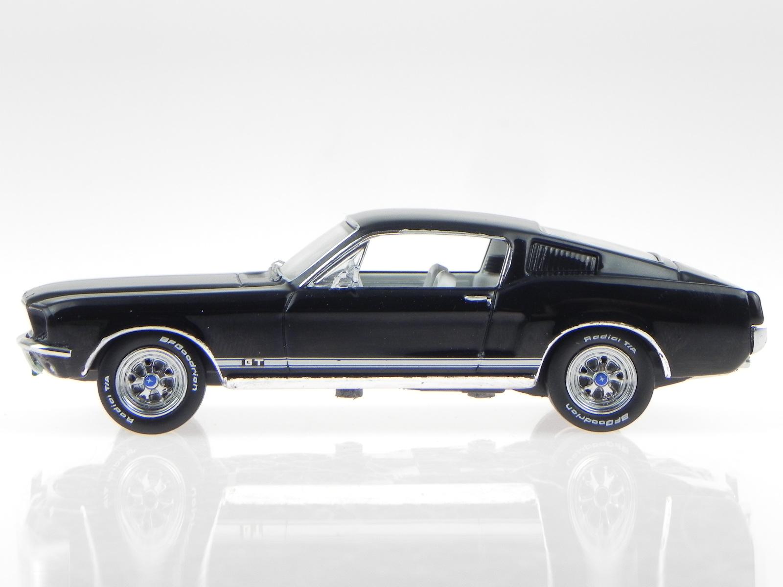 ford mustang gt fastback 1967 schwarz modellauto prd366. Black Bedroom Furniture Sets. Home Design Ideas