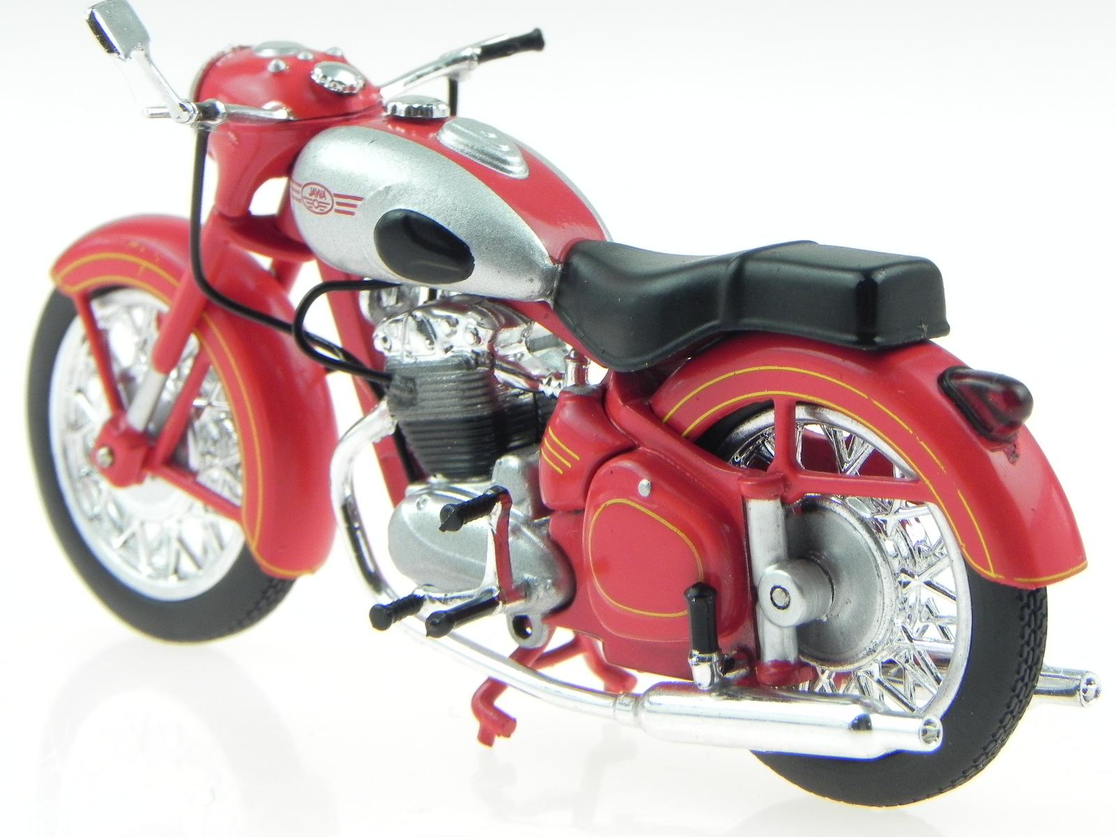 jawa 500 ddr ostalgie motorrad modell atlas 1 24 ebay. Black Bedroom Furniture Sets. Home Design Ideas