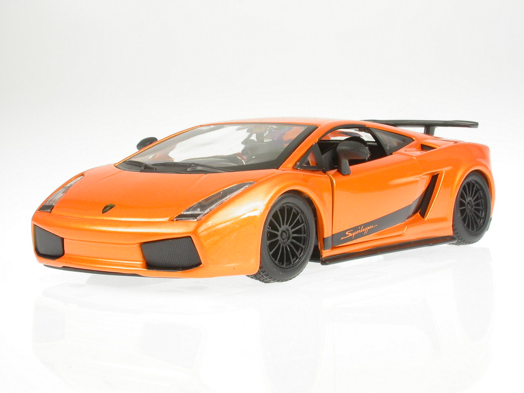 Lamborghini Gallardo Superleggera Orange Diecast Model Car 18 21037
