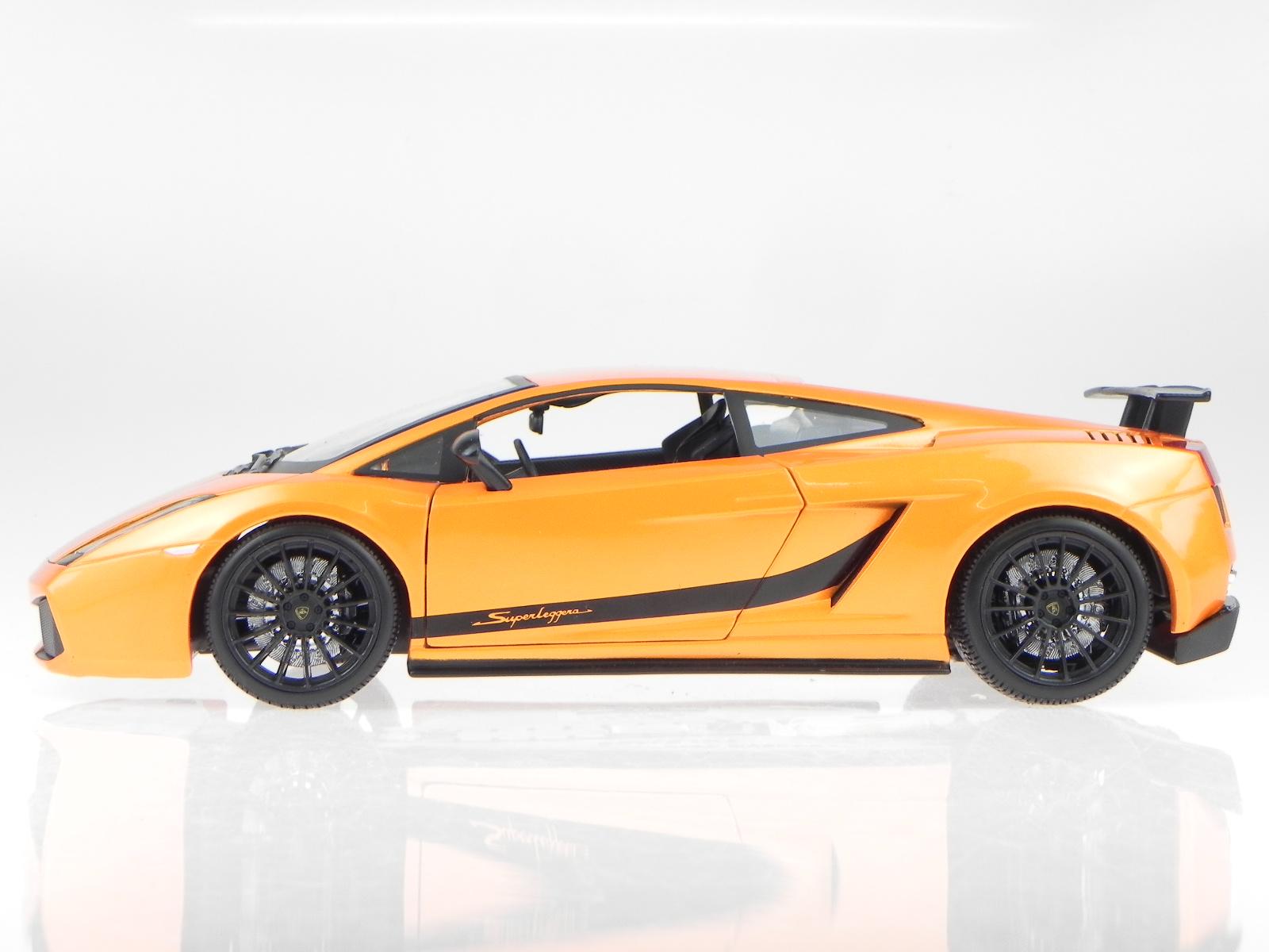 Lamborghini Gallardo Superleggera Orange véhicule miniature 31149 Maisto 1 18 18 18 c9c2d6
