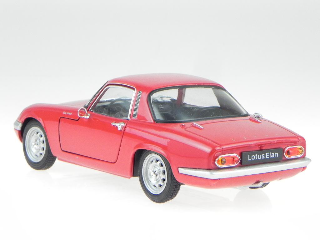 Lotus-Elan-1965-rojo-coche-en-miniatura-24035-Welly-1-24