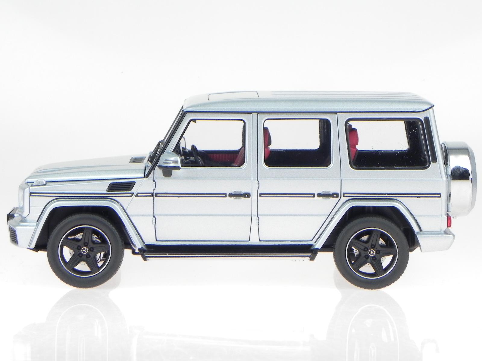 mercedes bm463 g klasse 2015 diamant silber modellauto. Black Bedroom Furniture Sets. Home Design Ideas
