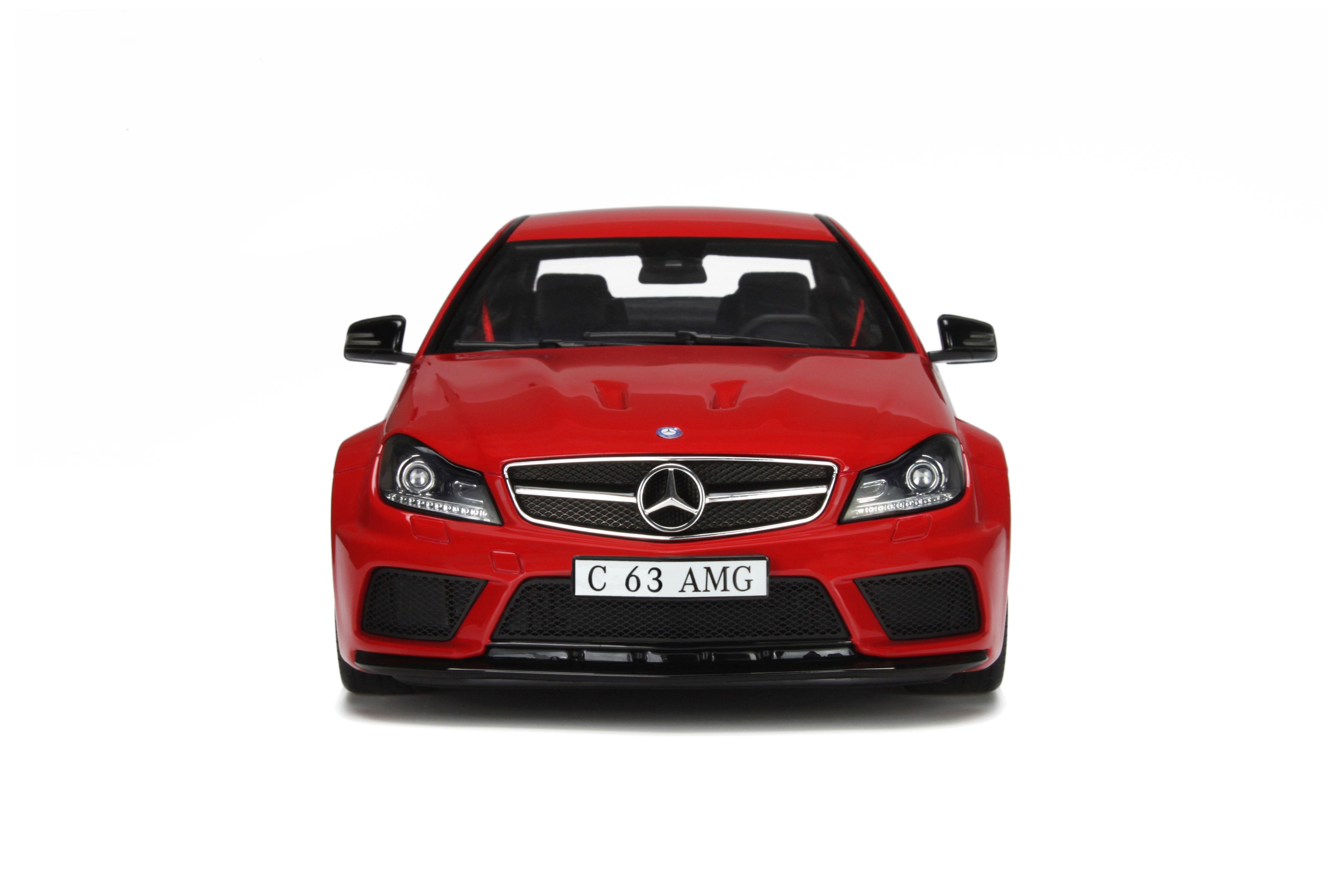 mercedes c204 c63 amg black series red modelcar gt065 gt spirit 1 18 4058124196020 ebay. Black Bedroom Furniture Sets. Home Design Ideas
