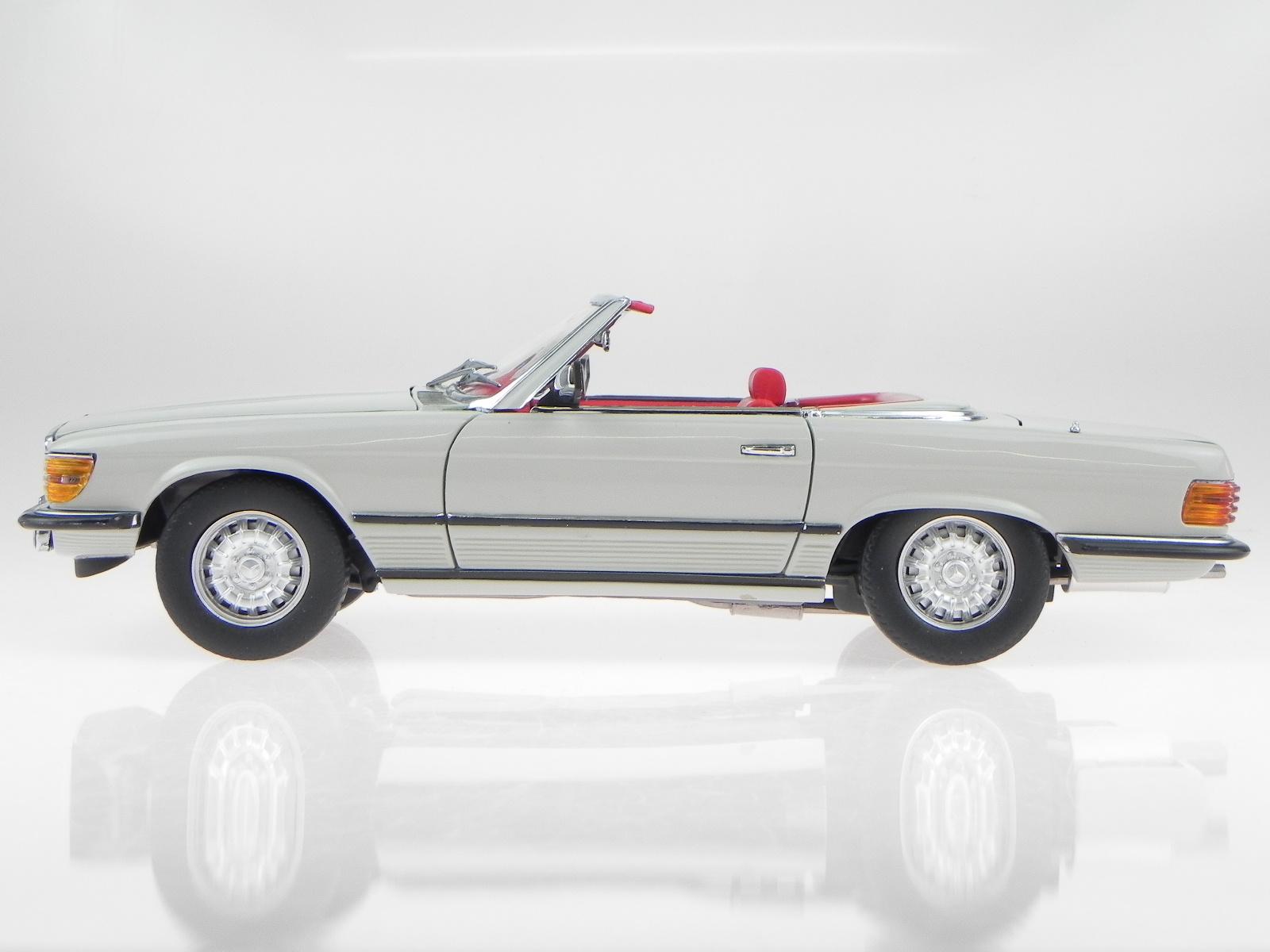 mercedes r107 350 sl 1977 pastell grau modellauto 4603. Black Bedroom Furniture Sets. Home Design Ideas