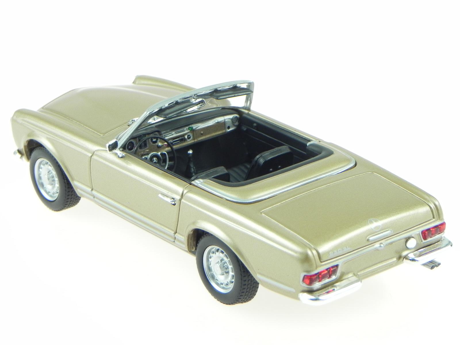mercedes r113 230 sl pagode 1965 gold met modelcar. Black Bedroom Furniture Sets. Home Design Ideas