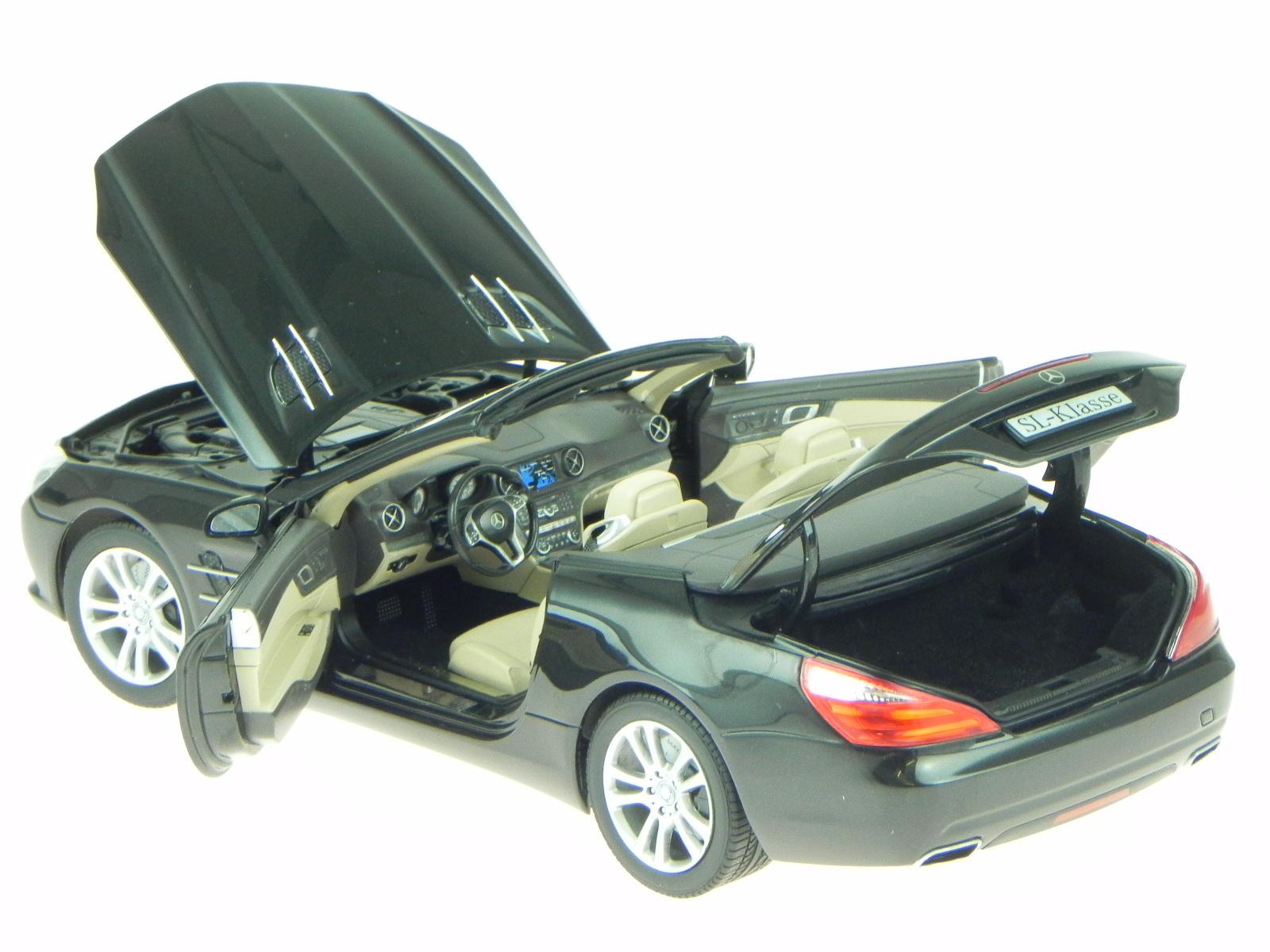 Magnetit Mercedes 500 Véhicule Classe Sl R231 Noir 354jRAL