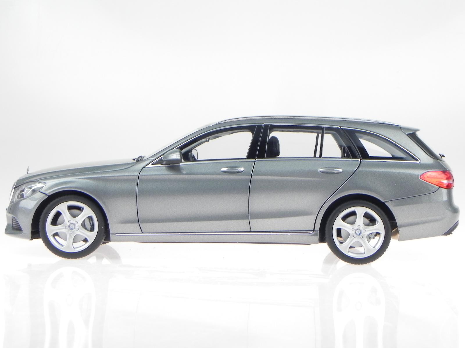 Mercedes S205 S205 S205 C-Classe T-Modell Exclusive argent véhicule miniature Norev 1 18 5880dd