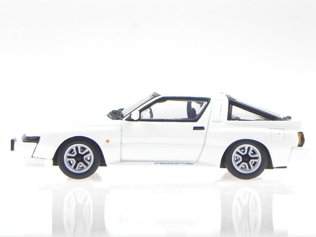 Mitsubishi-Starion-2600-GSR-VR-1988-white-diecast-model-car-174510-DISM-1-43