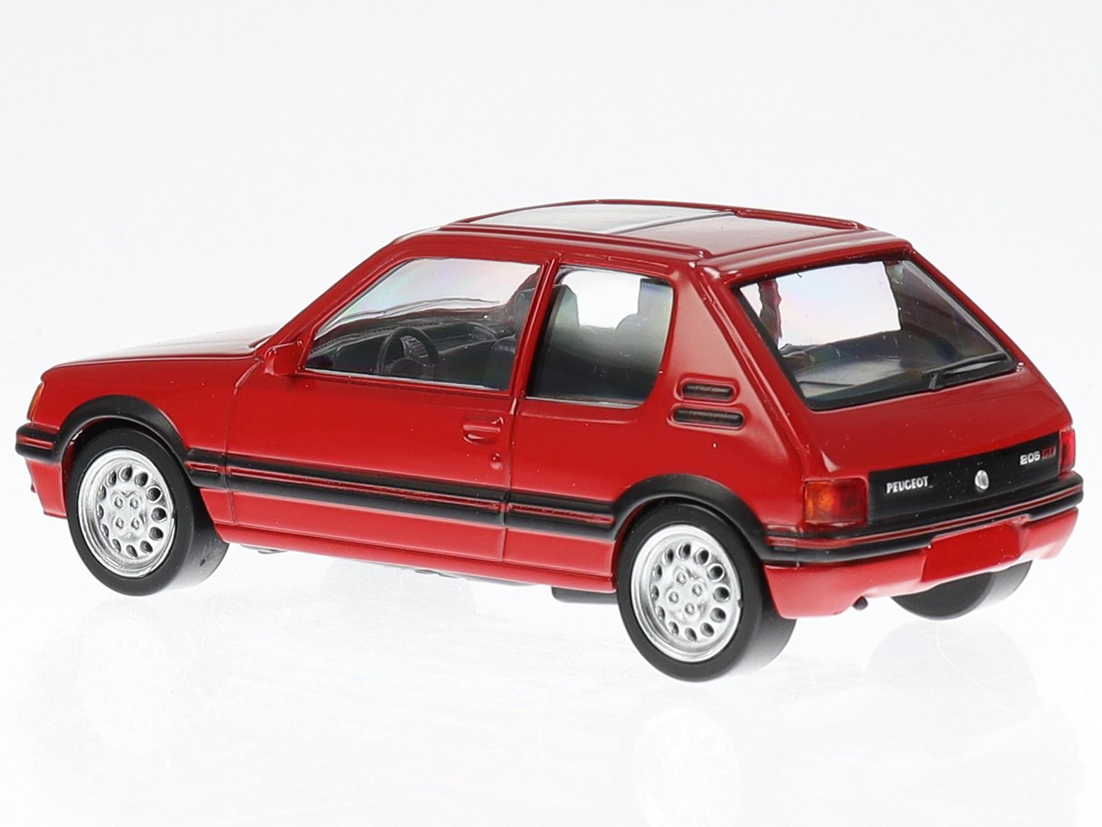 Echelle 1//43 NO 471713 Vallelunga Red Jet-Car NOREV Peugeot 205 GTi 1986