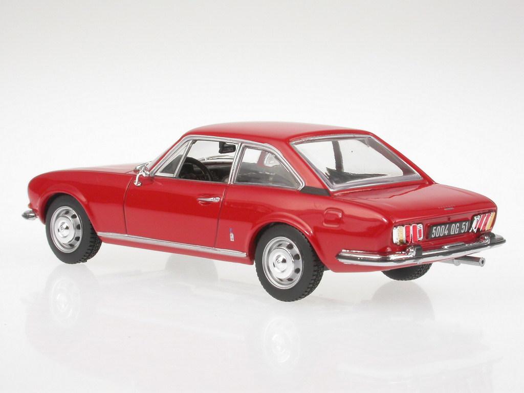 Peugeot 504 Coupe Red Diecast Model Car 475416 Norev 1 43 Ebay