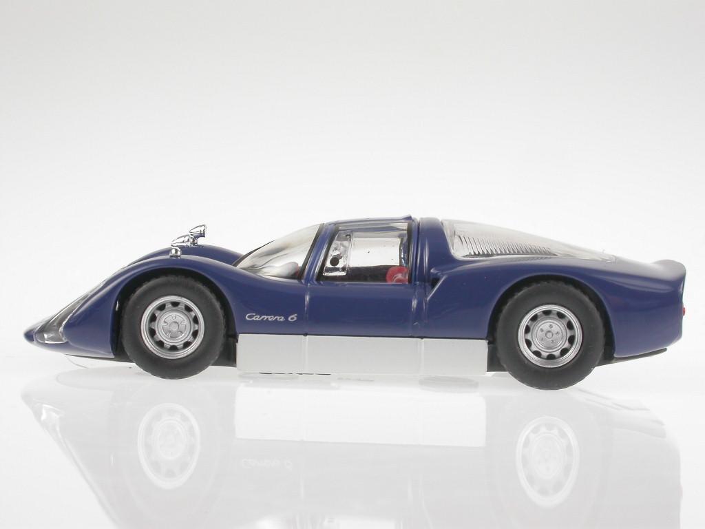 Porsche-906-Carrera-6-1965-blue-diecast-model-car-Solido-1-43 miniature 2
