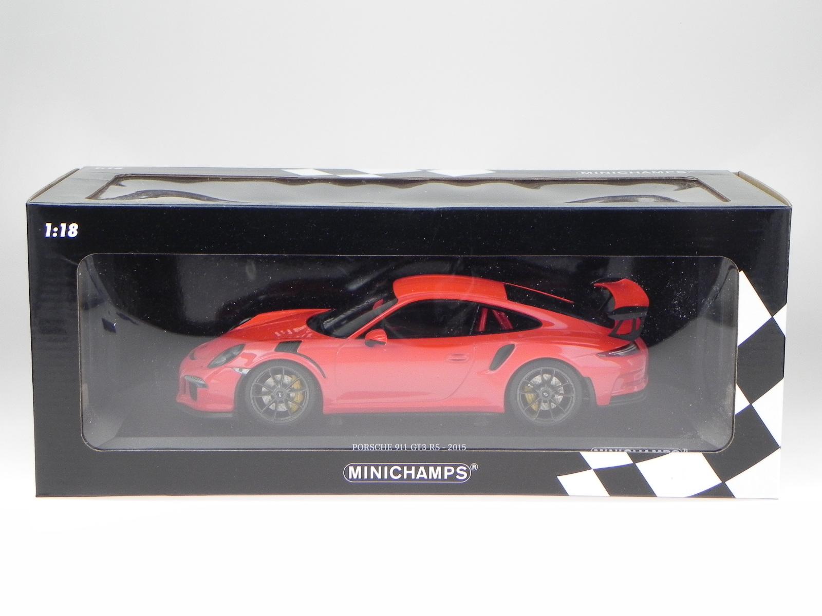 Porsche 911 991 991 991 GT3 RS 13 arancio modellino 155066220 Maxichamps 1:18 4890e8