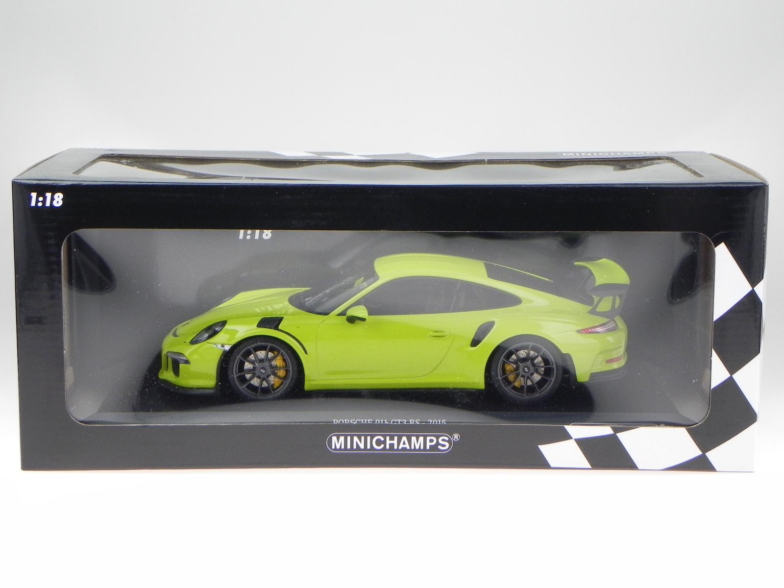Porsche 911 991 GT3 RS 2013 vert véhicule miniature 155066222 155066222 155066222 Maxichamps 1:18 | Sortie  | Luxuriante Dans La Conception  | Outlet Online  a7e283