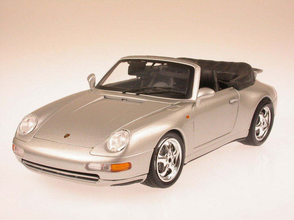 porsche 911 993 carrera cabrio modellauto bb 1 18 ebay. Black Bedroom Furniture Sets. Home Design Ideas
