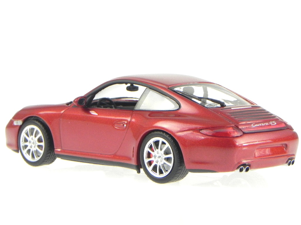 porsche 911 997 carrera rot metallic modellauto minichamps. Black Bedroom Furniture Sets. Home Design Ideas
