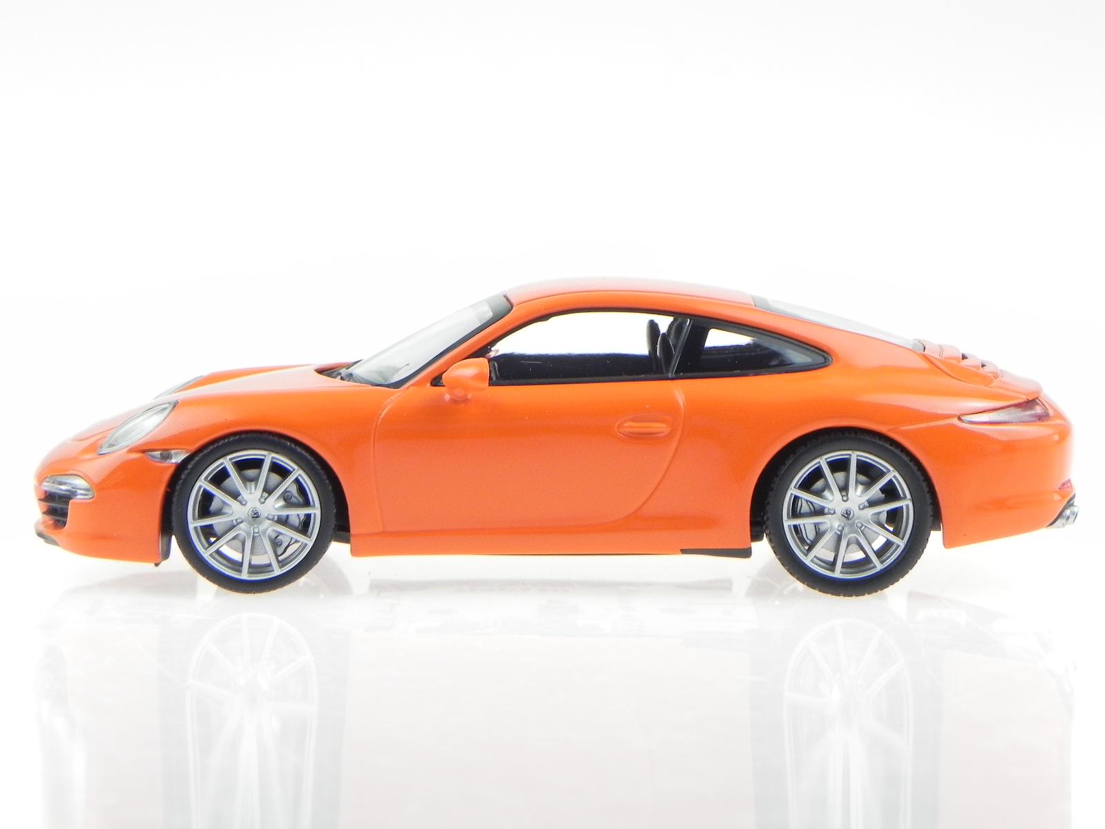 porsche 911 991 carrera s 2012 orange modellauto 60221. Black Bedroom Furniture Sets. Home Design Ideas
