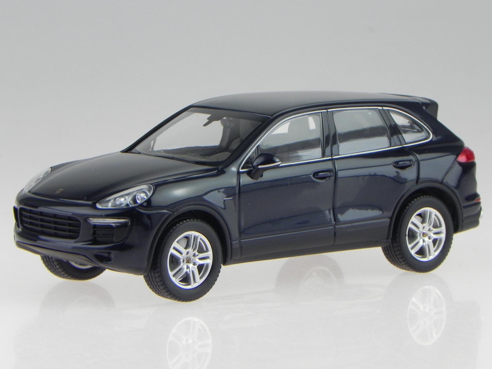 Porsche Cayenne S Diesel E2 Ii Blue Diecast Model Car 200080e Minichamps 1 43 For Sale Online Ebay