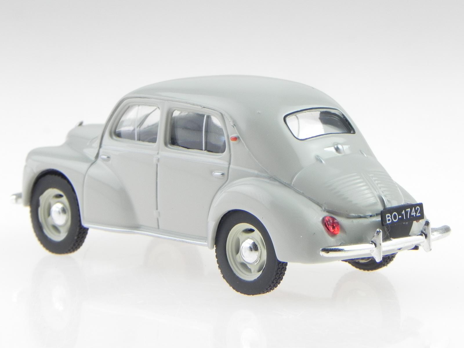 Renault-4CV-4-CV-beisschnittchen-clara-verde-coche-en-miniatura-Atlas-1-43 miniatura 3