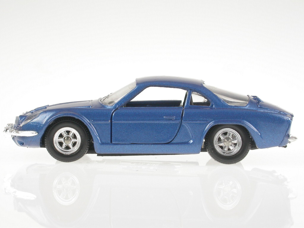 renault alpine a110 blau modellauto solido 1 43 ebay. Black Bedroom Furniture Sets. Home Design Ideas