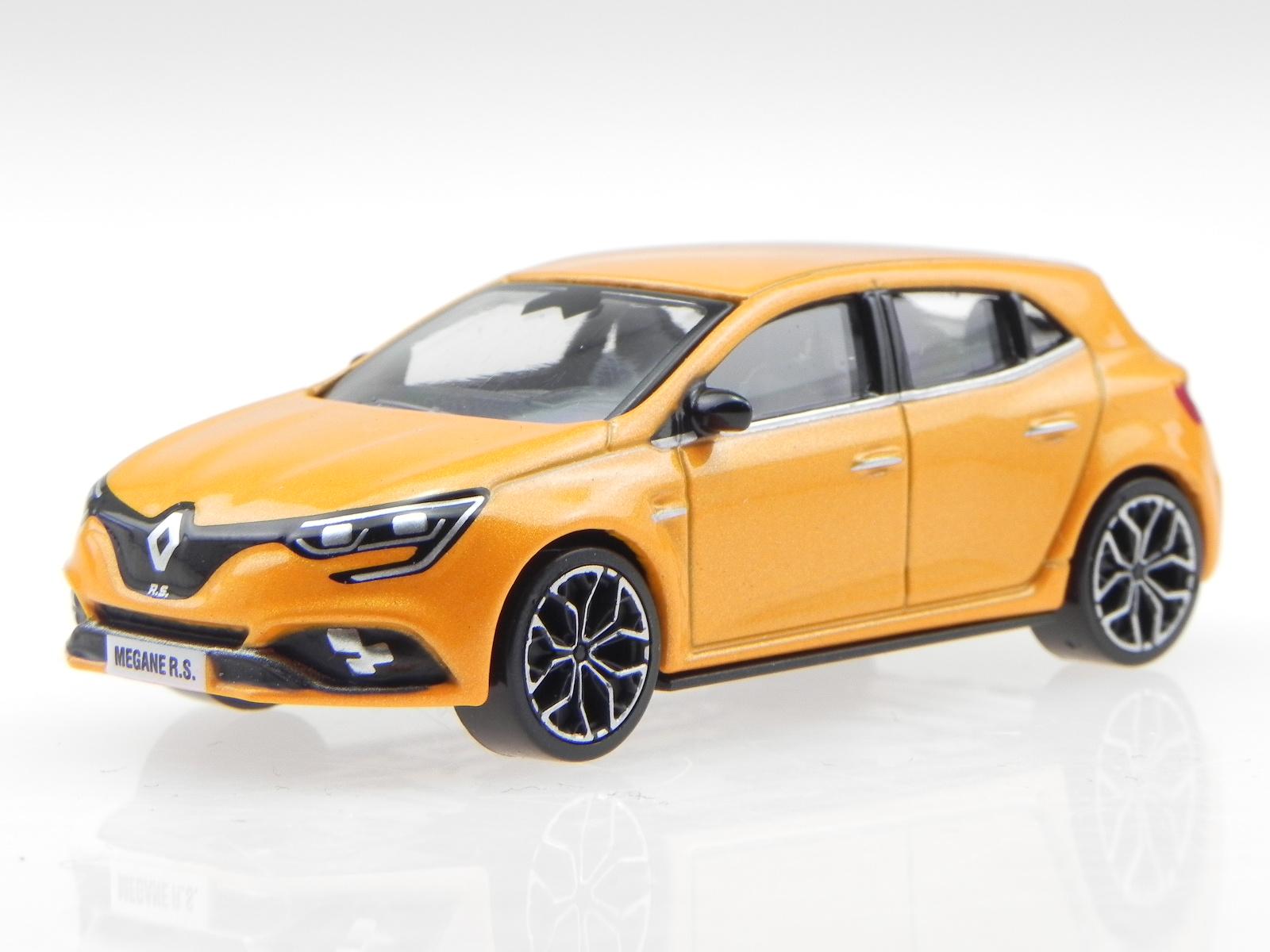 Megane Rs 2017 >> Renault Megane Rs 2017 Orange Diecast Modelcar 310903 Norev 3inch