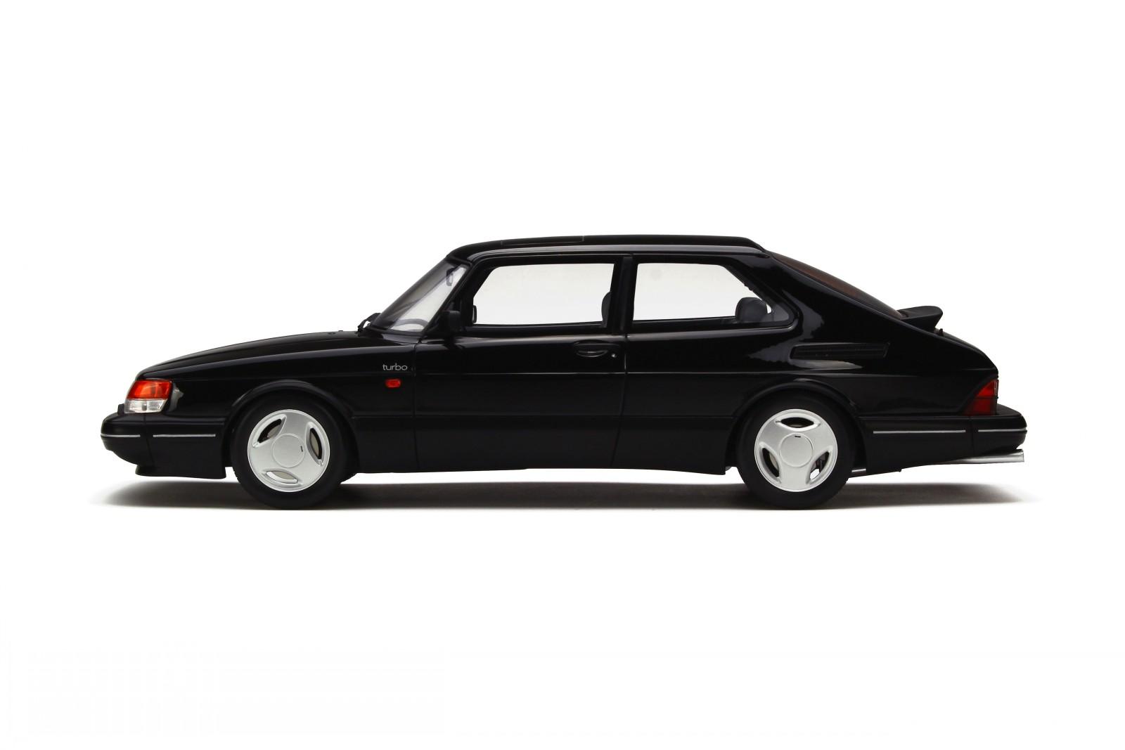Saab-900-Turbo-Phase-1-black-resin-modelcar-OT678-Otto-1-18 thumbnail 4