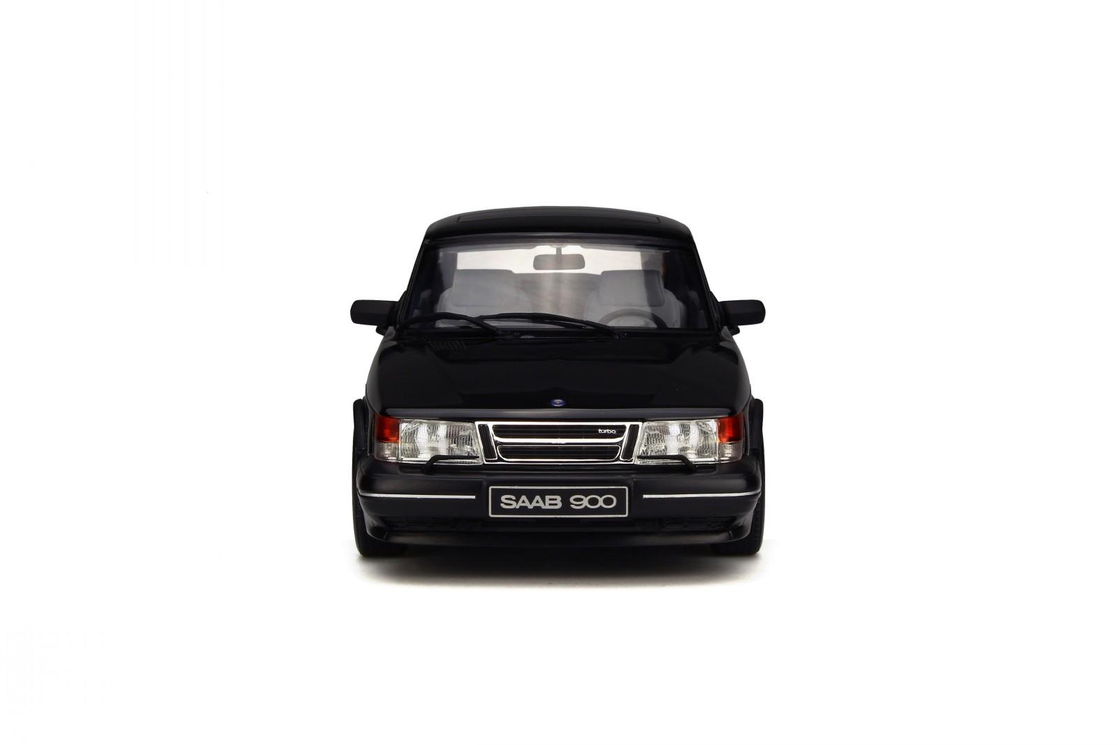 Saab-900-Turbo-Phase-1-black-resin-modelcar-OT678-Otto-1-18 thumbnail 3