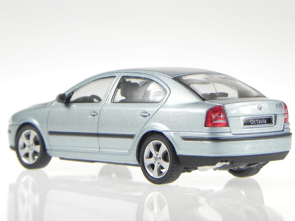 skoda octavia 2004 stein grau modellauto 143ab 001p abrex. Black Bedroom Furniture Sets. Home Design Ideas