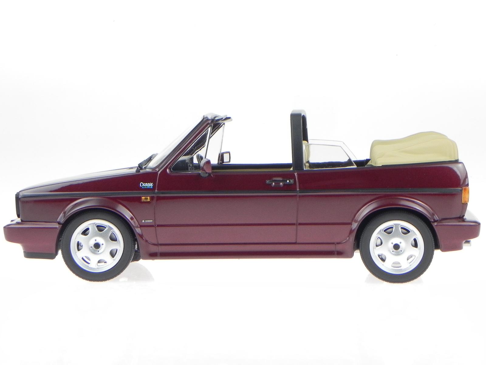 vw golf 1 cabrio classic line 1992 rot modellauto 188403. Black Bedroom Furniture Sets. Home Design Ideas